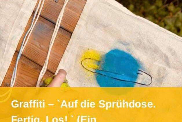 Ferienprojekt Graffiti